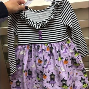 Eleanor rose Halloween dress size 3-4